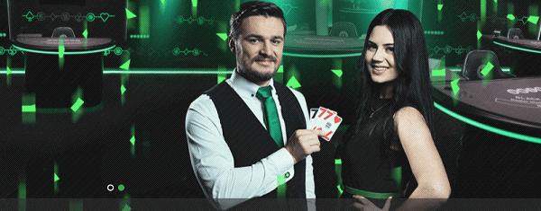 Unibet Casino Live Dealer - Roulette, Blackjack, Baccarat