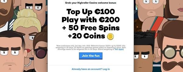 100% free bonus and 50 free spins