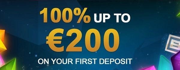 Videoslots 100% welcome bonus