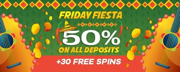 Double Up Casino Friday Fiesta
