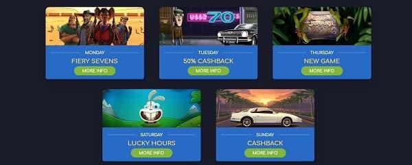 Wild Tornado Casino promotions