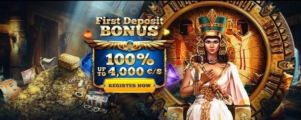 100% up to €/$4,000 First Deposit Bonus