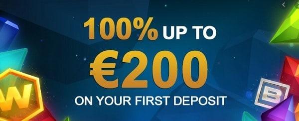 100% bonus at videoslots.com