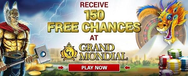 150 gratis spins bonus on Mega Moolah