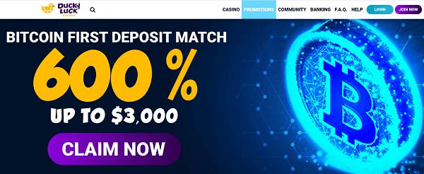 600% BONUS