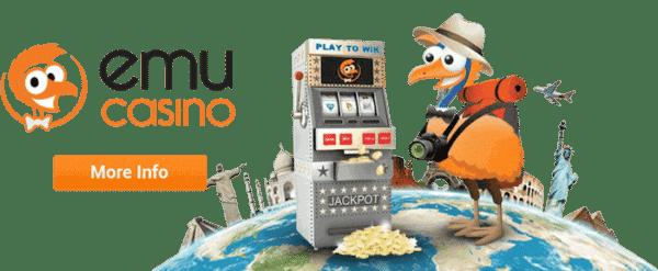 Emu Casino Free Spins Bonus