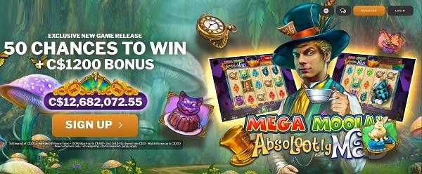50 FREE CHANCES on jackpot