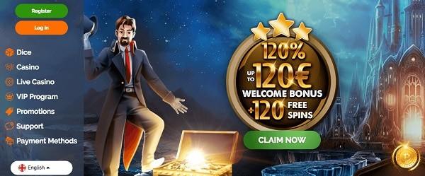 Montecryptos Casino Welcome Bonus and Free Spins