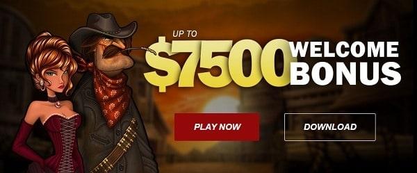 $7500 free cash bonus on deposit