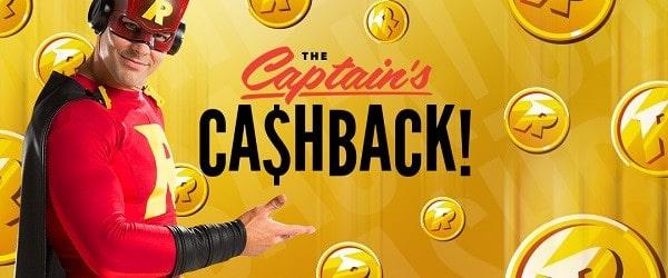 Cashback Bonus at Rizk
