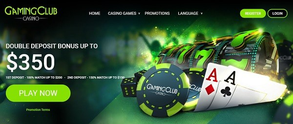 Gaming Club Online welcome bonus