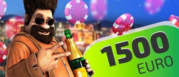 IVI Casino 1500 EUR bonus