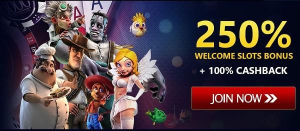 250% bonus new players