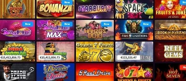 Wild Blaster Casino Games