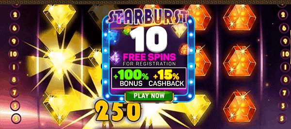 10 free spins bonus no deposit required!