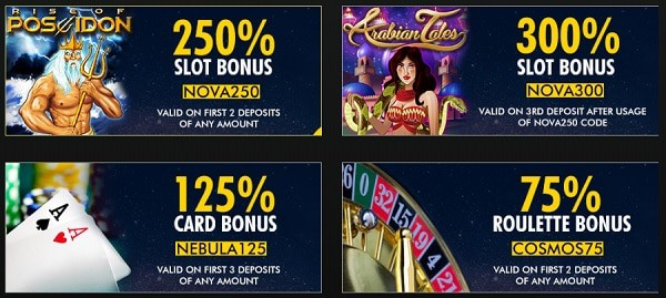 Exclusive Promotions and Bonuses after deposit