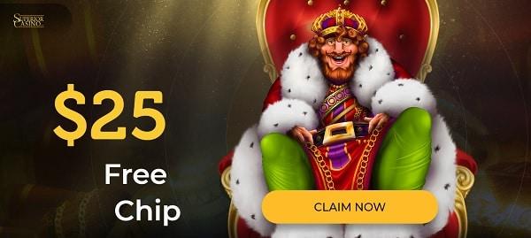 $25 free chip casino bonus