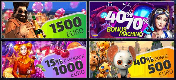 IVI Casino promotions and bonuses