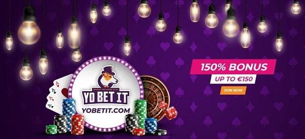 Collect 150% bonus on 1st deposit!