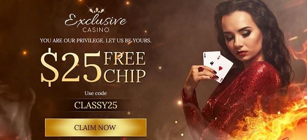 $25 free chip no deposit needed