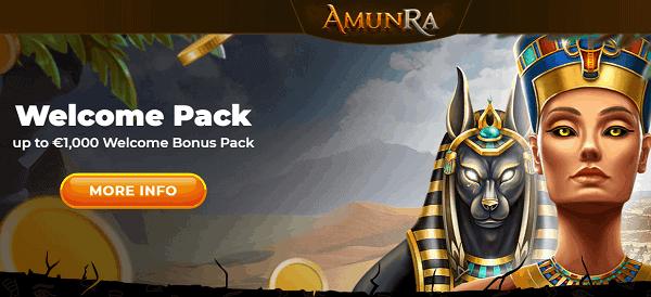 Amun Ra Welcome Bonus
