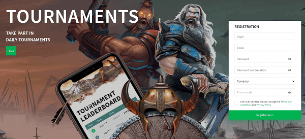 Tournaments and Prize Draws