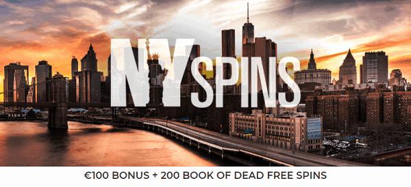 Book of Dead free spins bonus