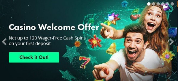 Volt Casino welcome bonus