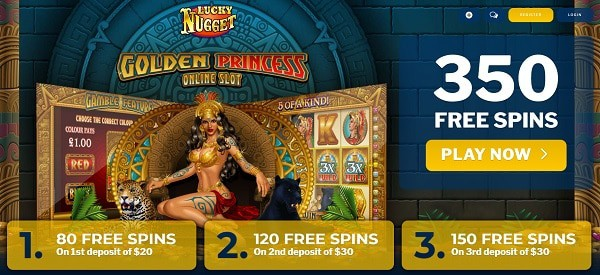 350 free spins on new slots