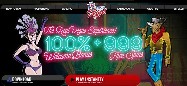100% bonus + 999 free spins