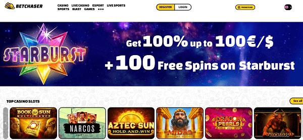 Play 100 free spins and get 10 EUR free bonus