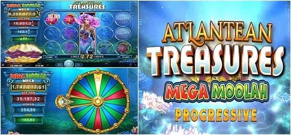 Atlantean Treasures Mega Moolah jackpot winner
