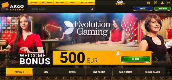 500 EUR welcome bonus