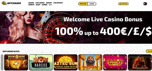 BetChaser Online Free Spins No Deposit Bonus
