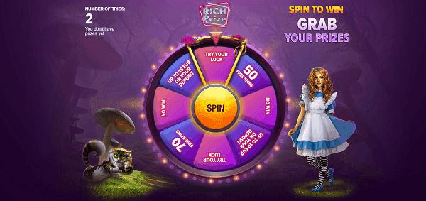 RichPrize free spins