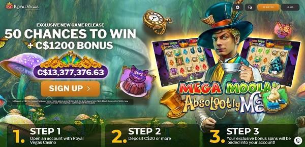 50 Free Chances on Jackpot Slot