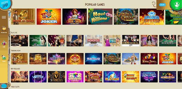 2000+ Games & Live Dealer