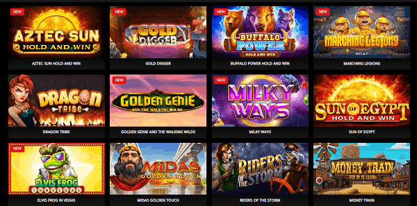Play 4900 slot games every day!