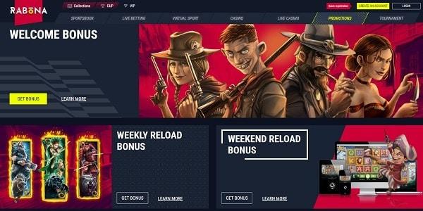 New Casino Player Welcome Bonus