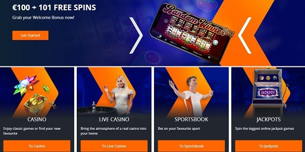 101 Free Spins and 100% Welcome Bonus at Betsson.com