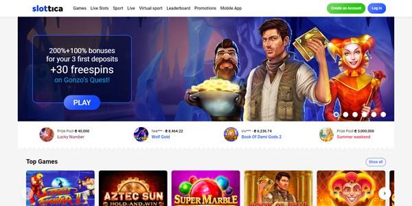Slottica Casino Review & Gratis Spins