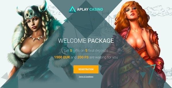 APlay Casino welcome bonus