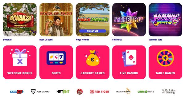 Play new online slot machines