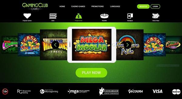 Gaming Club Casino full review