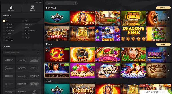 1 x slot games