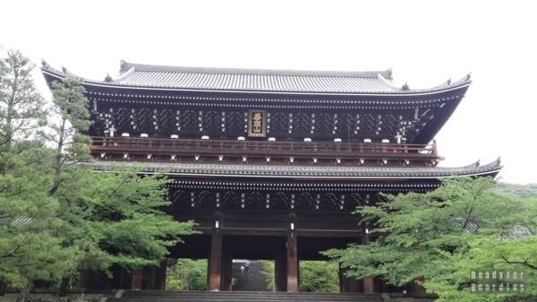 Kioto - Nanzenji Temple i Sanmon Gate