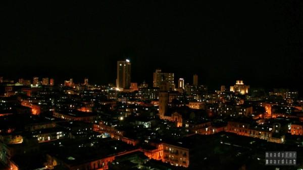 Hawana nocą - Kuba