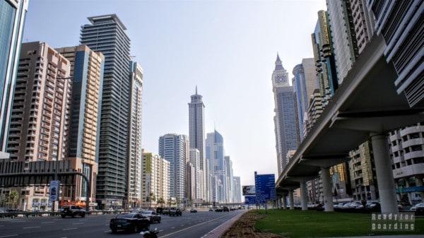 Wieżowce w Dubaju