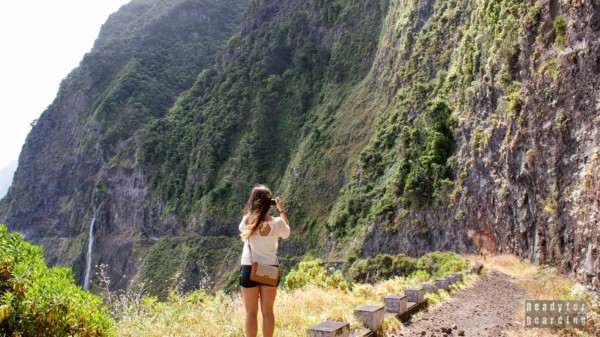 Wodospad - Welon panny młodej, Madera