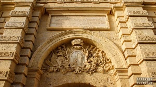Brama miasta, Mdina - Malta
